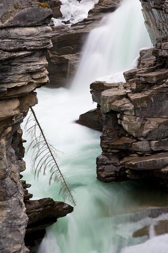 Athabasca River「Athabasca Falls」:スマホ壁紙(19)