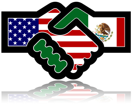 A Helping Hand「Handshake: US & Mexico」:スマホ壁紙(2)
