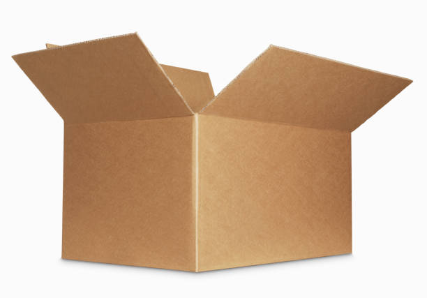 box open isolated over a white background:スマホ壁紙(壁紙.com)