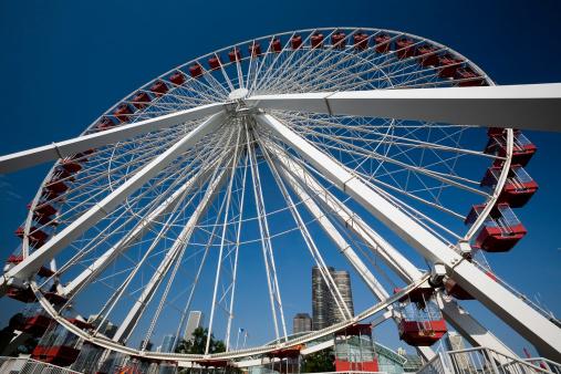 Chicago - Illinois「Ferris Wheel, Chicago」:スマホ壁紙(17)