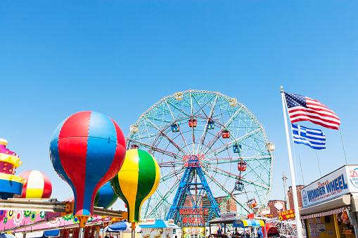 Coney Island - Brooklyn「Ferris Wheel, Coney Island」:スマホ壁紙(13)