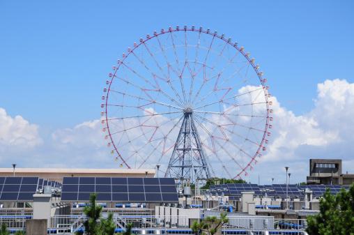Ferris Wheel「Ferris Wheel and Water Purification Plant」:スマホ壁紙(1)