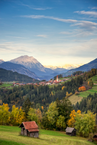 Austria「View of Unterleins in Tyrol」:スマホ壁紙(9)