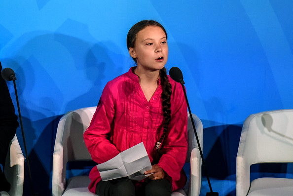Greta Thunberg「World Leaders Gather For United Nations Climate Summit」:写真・画像(13)[壁紙.com]