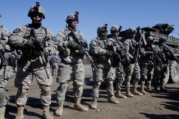 South Korea「U.S. And South Korea Forces Undergo Military Exercises」:写真・画像(19)[壁紙.com]