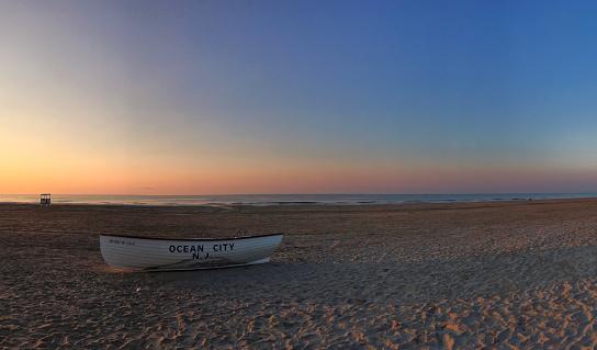 ニュージャージー州 ジャージー・ショア「Ocean City Sunrise」:スマホ壁紙(4)
