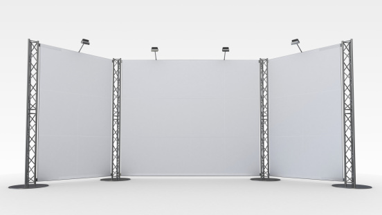 Projection Screen「A white display stand in front of a white background」:スマホ壁紙(18)