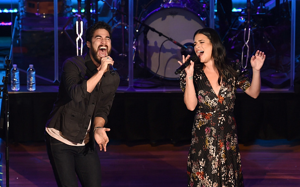 Darren Criss「Lea Michele & Darren Criss In Concert - Nashville, Tennessee」:写真・画像(15)[壁紙.com]