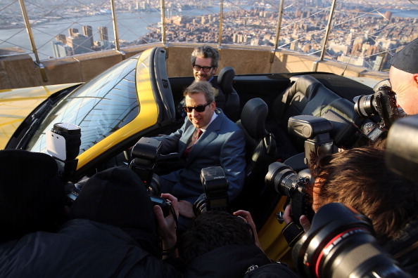 Empire State Building「Ford Marks 50th Anniversary Of Company's Mustang By Revealing 2015 Model On Empire State Building」:写真・画像(4)[壁紙.com]