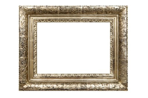 Antique「Dirty Old Picture Frame (Clipping Path Included)」:スマホ壁紙(10)
