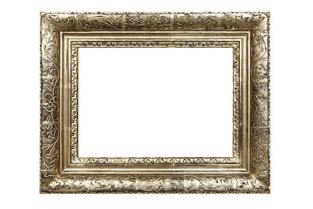 Dirty Old Picture Frame (Clipping Path Included):スマホ壁紙(壁紙.com)