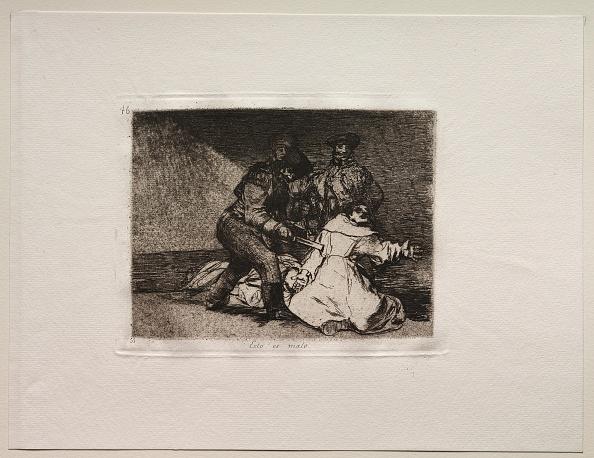 Etching「The Horrors Of War: This Is Bad. Creator: Francisco De Goya (Spanish」:写真・画像(10)[壁紙.com]