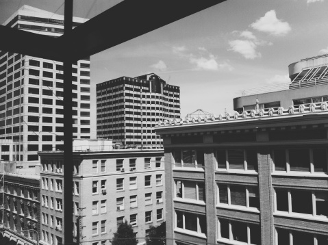 20th Century Style「Downtown Portland City Architecture and Office Buildings」:スマホ壁紙(1)