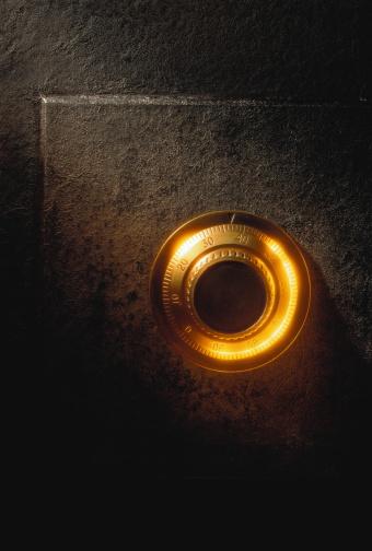 Gel Effect Lighting「Safe combination dial, close-up」:スマホ壁紙(3)
