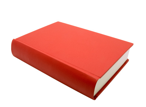 Hardcover Book「Red Book, isolated on white」:スマホ壁紙(15)
