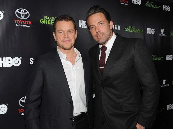 マット・デイモン「Matt Damon, Ben Affleck And HBO Reveals Winner Of 'Project Greenlight' Season 4 - Red Carpet」:写真・画像(7)[壁紙.com]