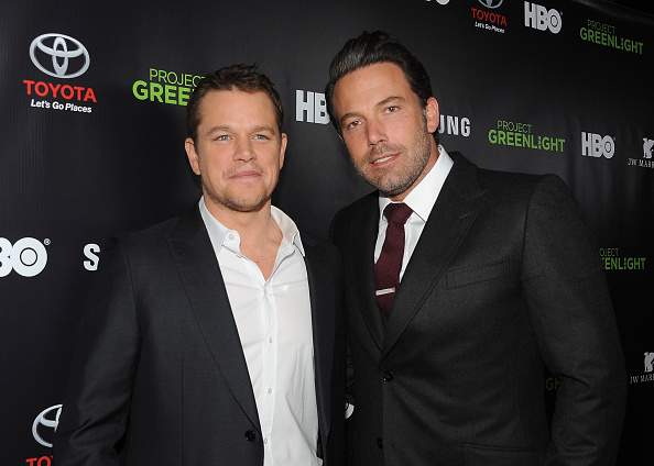 マット・デイモン「Matt Damon, Ben Affleck And HBO Reveals Winner Of 'Project Greenlight' Season 4 - Red Carpet」:写真・画像(15)[壁紙.com]