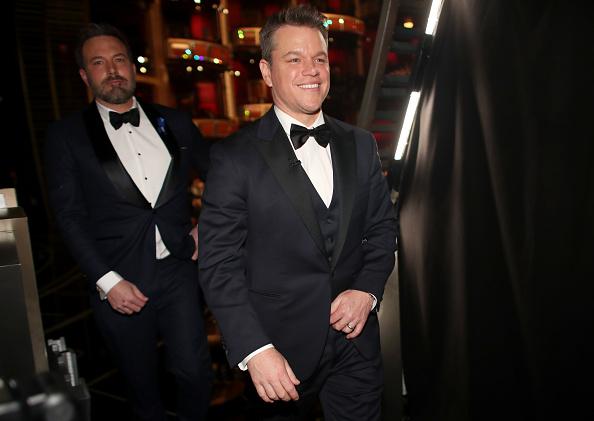 マット・デイモン「89th Annual Academy Awards - Backstage」:写真・画像(18)[壁紙.com]