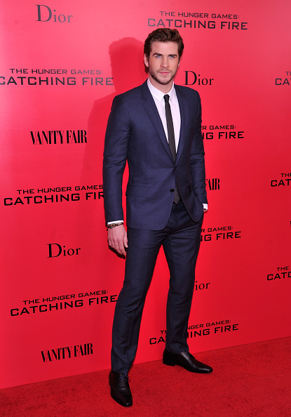 """Checked Suit「""""The Hunger Games: Catching Fire"""" New York Special Screening - Inside Arrivals」:写真・画像(19)[壁紙.com]"""
