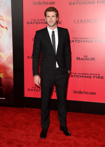 "Textured「Premiere Of Lionsgate's ""The Hunger Games: Catching Fire"" - Arrivals」:写真・画像(10)[壁紙.com]"