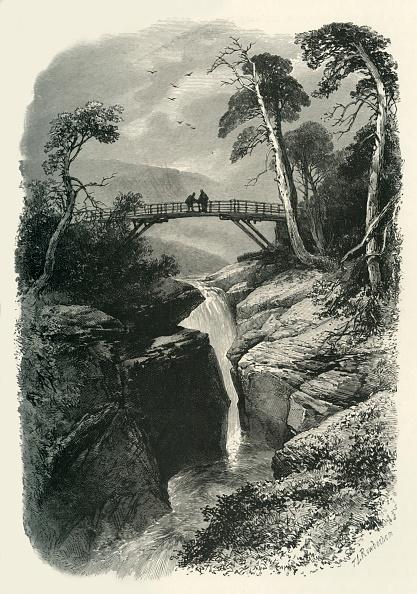 Footbridge「The Linn Of Dee」:写真・画像(7)[壁紙.com]