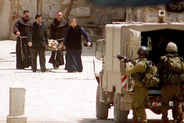 Justin Sullivan「Israeli Troops at the Church of the Nativity」:写真・画像(18)[壁紙.com]