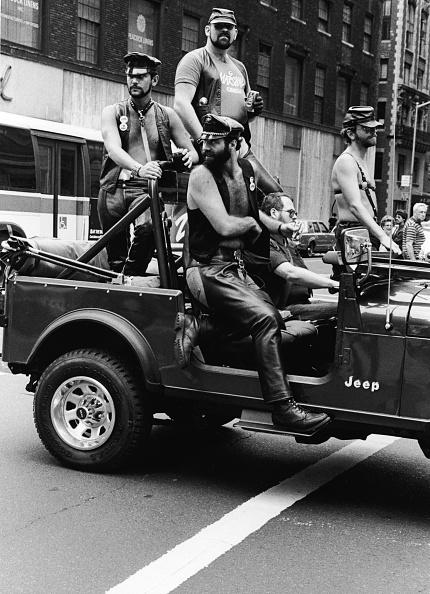 New York City Gay Pride Parade「Leathermen in Gay Pride Parade」:写真・画像(8)[壁紙.com]
