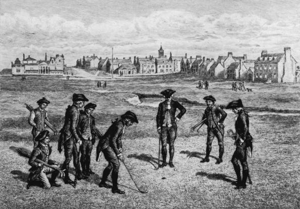ゴルフ「18th Century Golfers」:写真・画像(1)[壁紙.com]