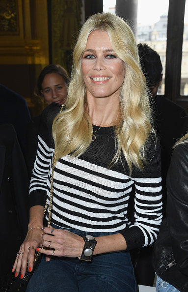 Claudia Schiffer「Balmain : Arrivals - Paris Fashion Week Womenswear Spring/Summer 2018」:写真・画像(2)[壁紙.com]