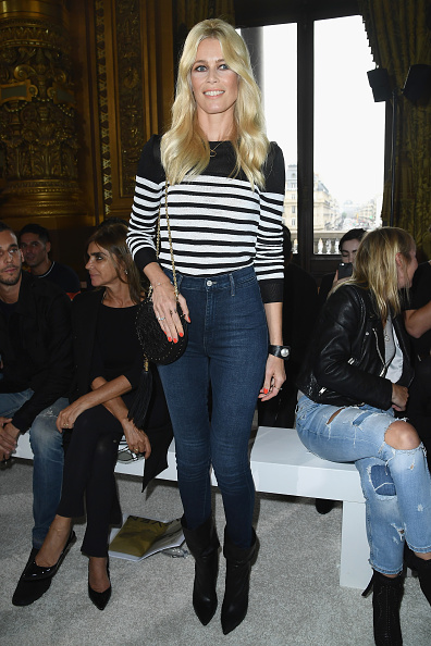 全身「Balmain : Arrivals - Paris Fashion Week Womenswear Spring/Summer 2018」:写真・画像(5)[壁紙.com]