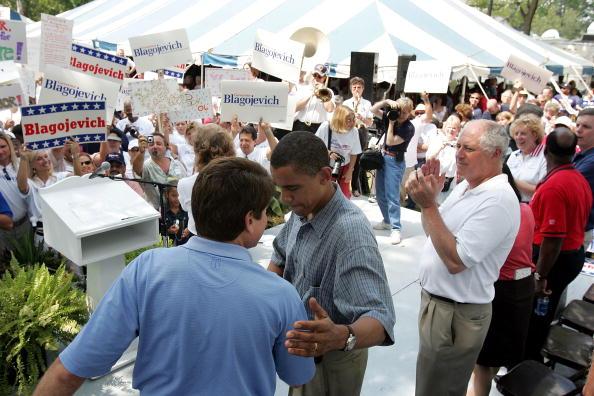 Tim Boyle「FILE PHOTO: Illinois Gov. Blagojevich Arrested On Corruption Charges」:写真・画像(8)[壁紙.com]