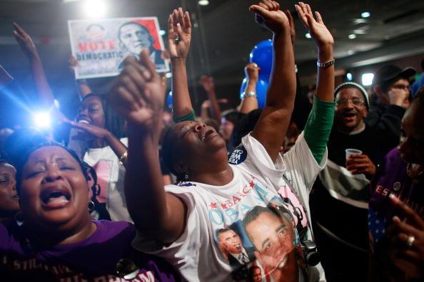 Bestof「African Americans In South Celebrate Obama's Historic Win」:写真・画像(8)[壁紙.com]