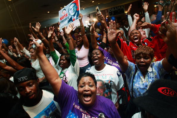 Black Ethnicity「African Americans In South Celebrate Obama's Historic Win」:写真・画像(17)[壁紙.com]