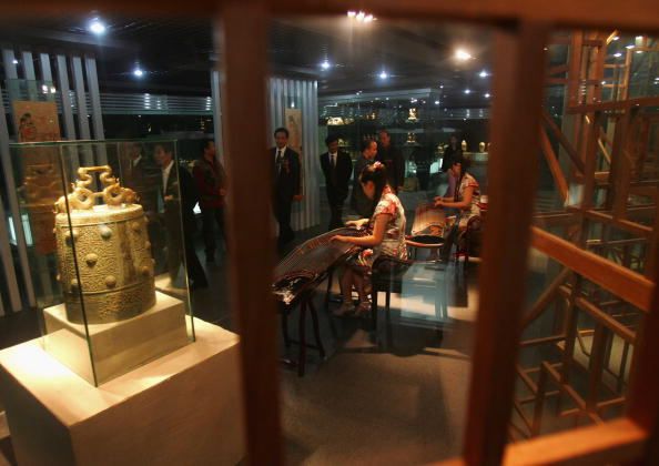 シタール「Chinese Music History Museum In Xian」:写真・画像(17)[壁紙.com]