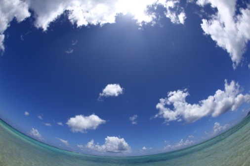 Northern Mariana Islands「Blue sky and the ocean, Saipan, Northern Mariana Islands」:スマホ壁紙(18)