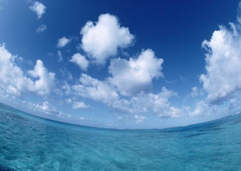 北マリアナ諸島「Blue Sky and Sea」:スマホ壁紙(3)