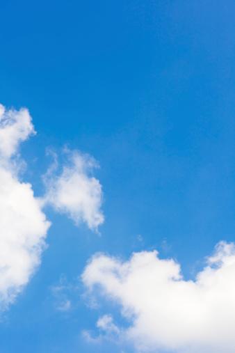 雲「青い空と雲」:スマホ壁紙(9)