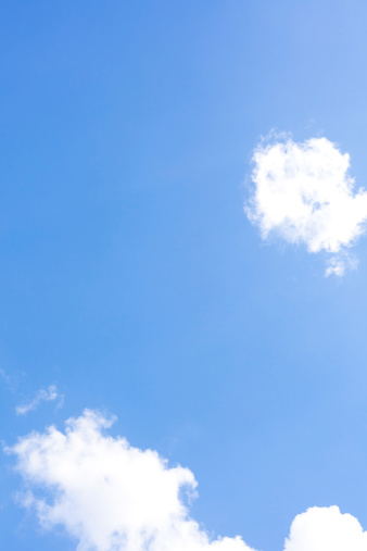 Sky Only「blue sky and clouds」:スマホ壁紙(8)