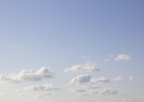 雲「Blue sky and clouds」:スマホ壁紙(3)