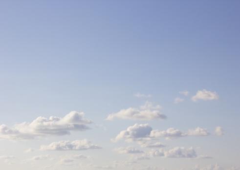 cloud「Blue sky and clouds」:スマホ壁紙(10)