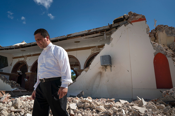 Land「Series Of Earthquakes Cause Structural Damage And Knocks Out Power To Island Of Puerto Rico」:写真・画像(10)[壁紙.com]