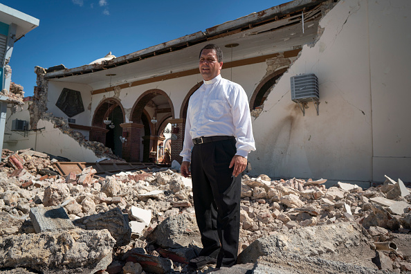 Land「Series Of Earthquakes Cause Structural Damage And Knocks Out Power To Island Of Puerto Rico」:写真・画像(9)[壁紙.com]
