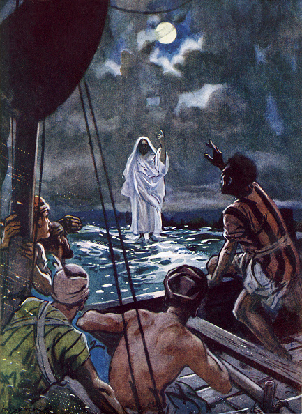 New Testament「Jesus walking on the Sea of Galilee」:写真・画像(13)[壁紙.com]