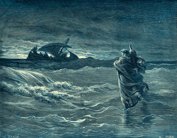 Water「Jesus walking on the sea」:写真・画像(16)[壁紙.com]