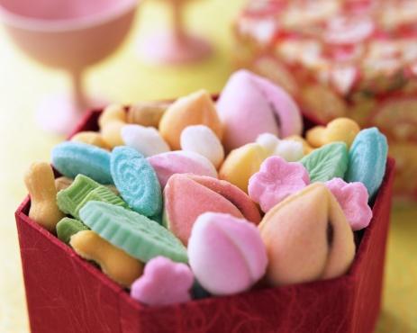 和菓子「Colorful desserts」:スマホ壁紙(18)