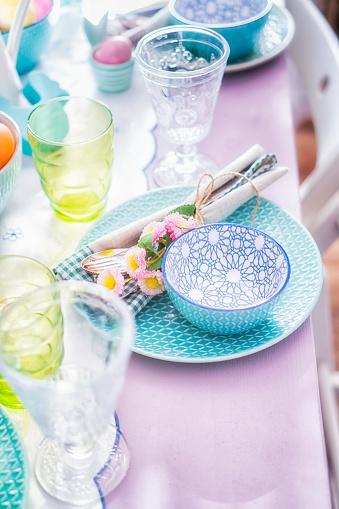 イースター「Colorful Decorated Easter Place Setting」:スマホ壁紙(17)