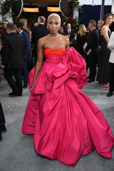 Cynthia Erivo「26th Annual Screen Actors Guild Awards - Red Carpet」:写真・画像(5)[壁紙.com]