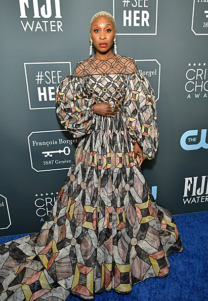 Cynthia Erivo「25th Annual Critics' Choice Awards - Red Carpet」:写真・画像(18)[壁紙.com]