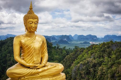 Buddha statue「Golden Buddha - Tiger Cave Temple / Thailand」:スマホ壁紙(2)