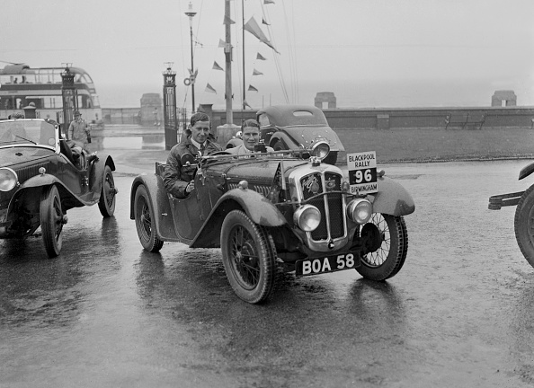 Water's Edge「Austin 7 Grasshopper 747 Cc」:写真・画像(4)[壁紙.com]
